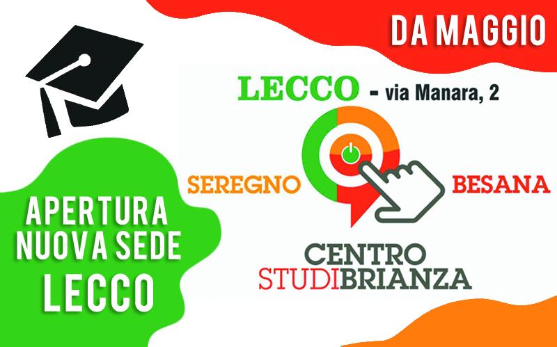 Apertura Centro Studi Brianza - Sede Lecco